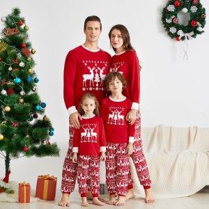 低至3.5折+额外8.5折独家:PatPat 亲子家居服特卖 Christmas Jumper 买起来