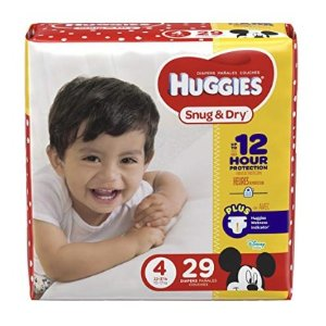 低至$5.67 新入宝宝湿巾史低价:Huggies Pull-Ups 好奇宝宝 训练纸尿裤、婴儿湿巾等特卖,收女宝训练裤