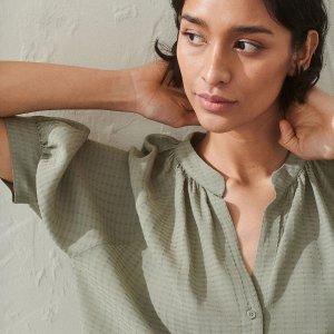 低至3折 €17收碎花长裙H&M 薄荷绿专场 森系女孩最爱 夏天就要清清爽爽