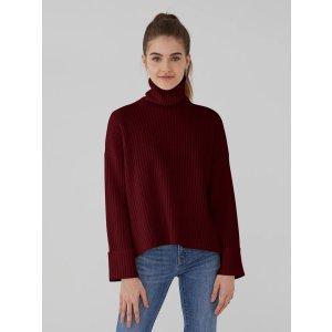 满$250减$100高领毛衣