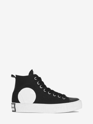 Swallow High Top Platform Plimsoll  McQ | Trainers |    