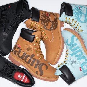 11月12日 本周四限量发售新品预告:Supreme x Timberland 联名靴强势来袭 秋冬最潮单品