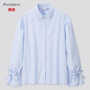 Uniqlo系带衬衫