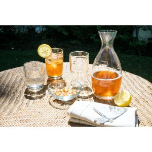 Set of 4 just $5Riedel Red and White Glasses up to 80% Off Sale @ The Home Depot