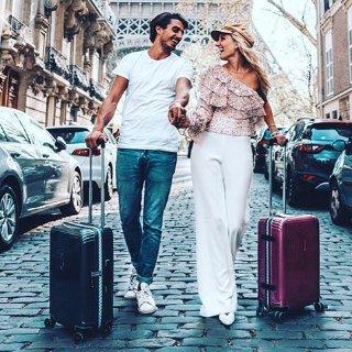 低至3折 $112起收极轻行李箱Samsonite新秀丽旅行箱特卖 收行李箱三件套 和爱的人去旅行