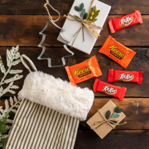 $6.68REESE'S and KIT KAT Christmas Chocolate Candy Bulk Variety Mix
