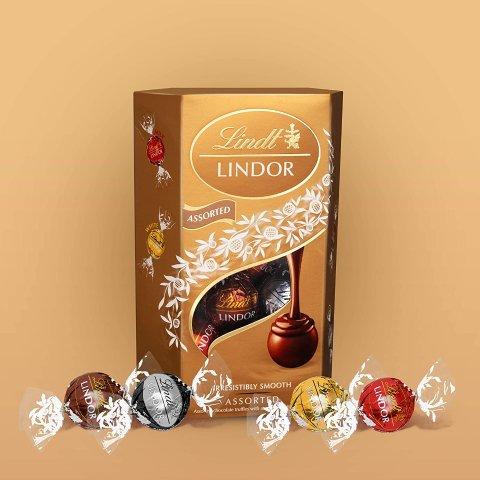 封面款仅£3.5Lindt 瑞士莲精选巧克力热促 经典品牌从不让人失望