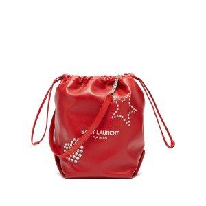 Saint LaurentTeddy studded leather bucket bag | Saint Laurent | MATCHESFASHION.COM US