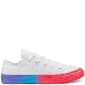 Converse彩虹底帆布鞋(大童款)