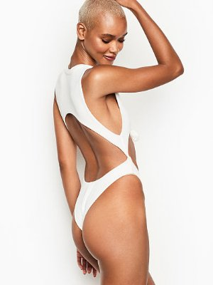 Front Knot Cutout One-piece - Frankies Bikinis