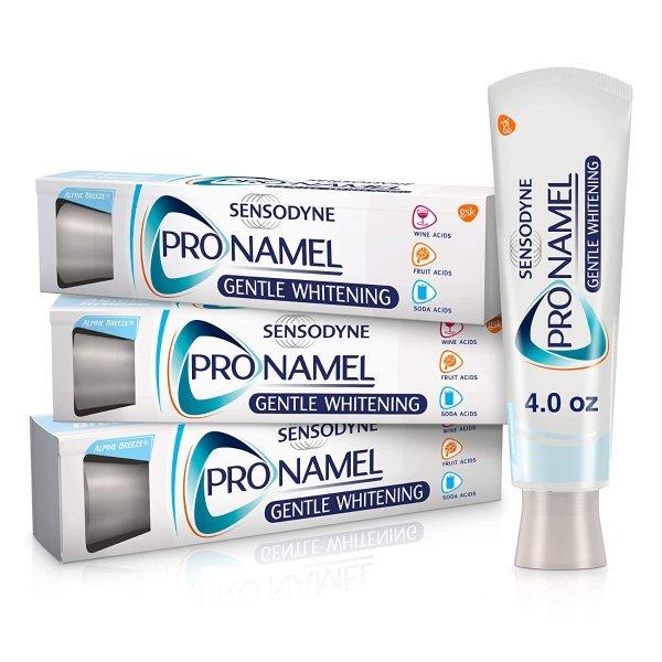 Pronamel 强化珐琅质美白抗过敏感牙膏 3支装