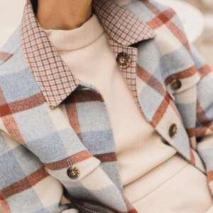 低至4折 $202收封面同款羊毛外套Petite Studio 纽约小众品牌大促 质感拼色毛衣 精选澳洲羊毛