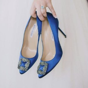 低至8.5折+免税Manolo Blahnik精选美鞋热卖 无需凑单收敲高颜值钻扣鞋