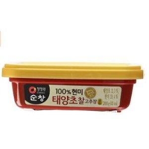 $5.48(原价$6.97)韩国 清净园辣椒酱200g装 地道炒年糕、部队锅自己来