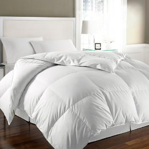 $42.49Kathy Ireland White Goose Feather & White Goose Down Comforter