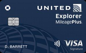 Earn 60,000 Bonus MilesUnited℠ Explorer Card