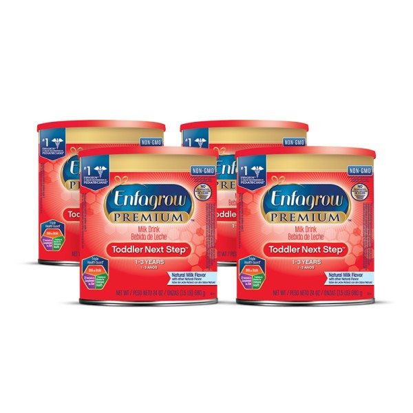 PREMIUM 幼儿奶粉, 24 盎司 *4罐