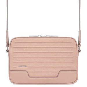 RimowaCross-body Messenger Bag in Leather & Canvas | Desert Rose Pink | RIMOWA