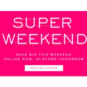 低至5折 行李箱买一送一最后一天:Myer 超级周末火热上线 购物party嗨起来