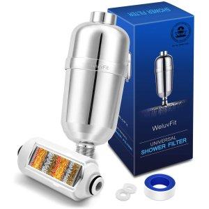 WeluvFit 淋浴过滤器,硬水软化器