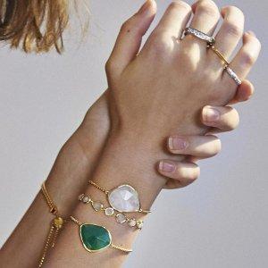 $230起上新:Monica Vinader春季新品  Siren宝石系列全新发售