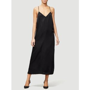 Frame DenimMini Slip Dress -- Noir