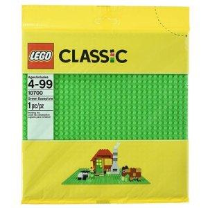 $5.69(原价$9.99)LEGO Classic 系列 经典创意绿色底板 10700