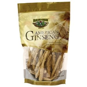 Ungraded American Ginseng Small Root 8oz bag