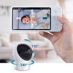 €127.99 原价€199.99Prime Day 狂欢价:eufy Security SpaceView 高清夜视婴儿监视器