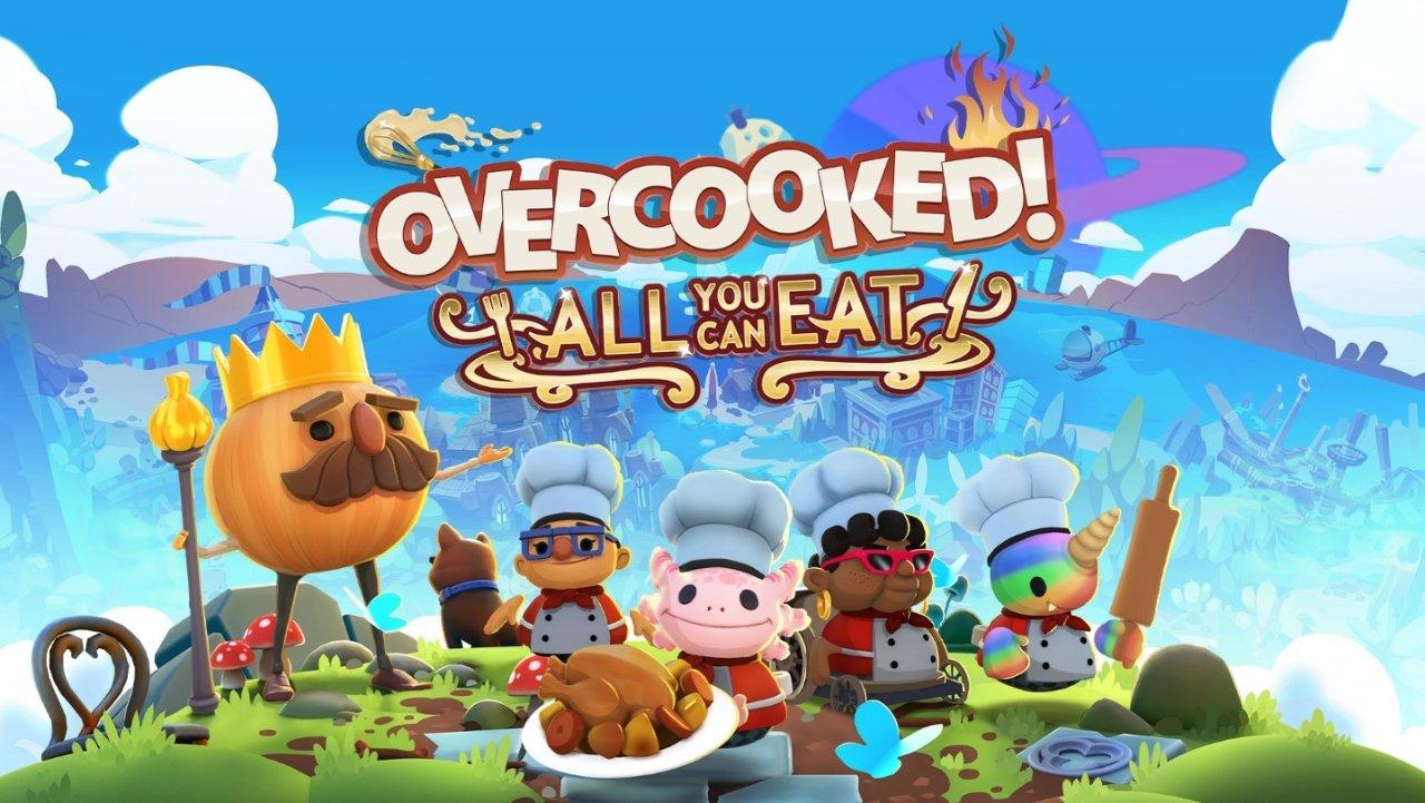 《胡闹厨房 全都好吃》试玩评测 | 基本介绍 创新内容 量大管饱的 多人游戏 自助餐!