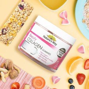 5折起 胶原蛋白软糖$10/40粒Nature's way 精选保健品促销 土澳保健软糖开创者