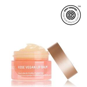 Squalane + Rose Vegan Lip Balm - 10g/0.35oz