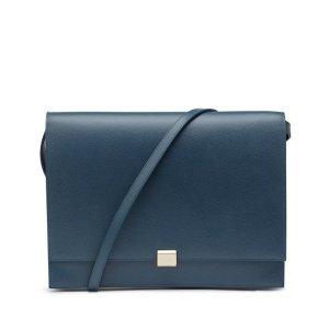 蓝色斜挎包