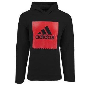 低至4折 两件仅$40adidas 经典Logo款男士休闲运动卫衣 多色可选