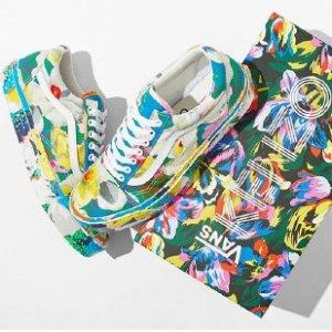 收许魏洲、王珞丹同款KENZO x VANS 2020夏季联名花卉系列重磅发售 辨识度满格