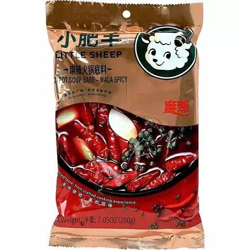小肥羊火锅汤料-麻辣 7.05oz