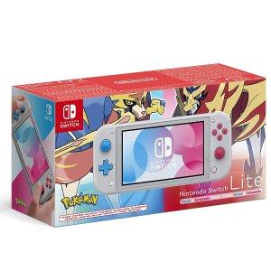史低价:Nintendo 任天堂 Switch Lite 游戏机更轻便,屏幕PPI更高的便携好选择