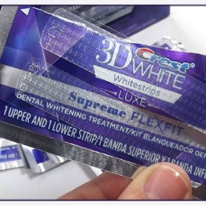 买2盒券后折合¥205/盒Crest 医美专业美白牙贴20片 维密天使同款