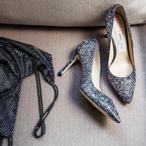 至高减$200 公主梦必备Jimmy Choo 星星经典闪片鞋,渐变鞋热卖