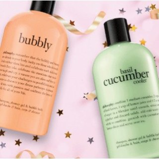 Free Two Full Ssize Shower GelsWith $50 Purchase @ philosophy