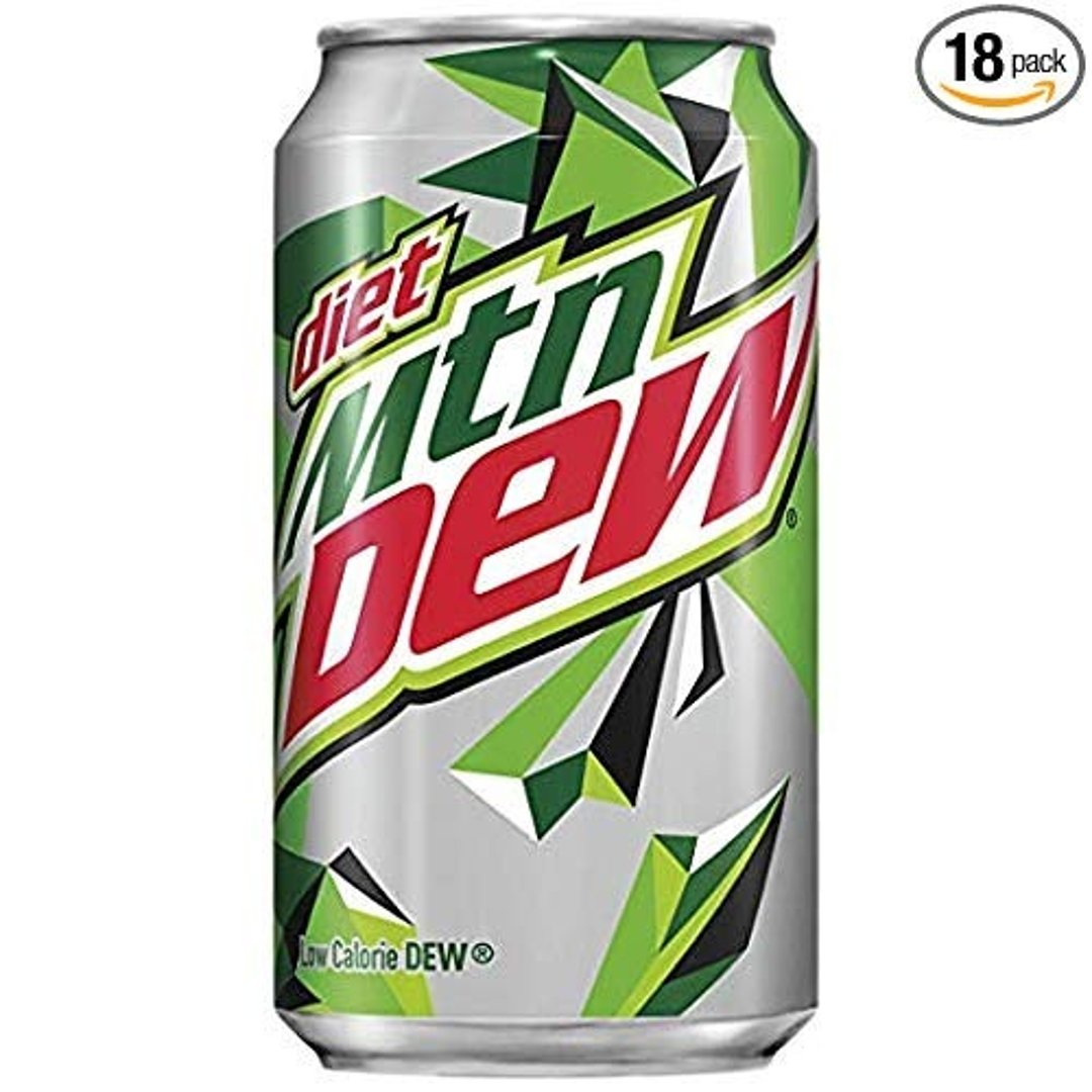 健怡Mountain Dew 12 Oz 18罐