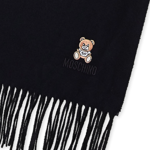 $39.99起 多色多款可选Moschino 超萌小熊围巾、丝巾好价收 超柔软质感