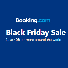 Save up to 40% From $8Black Friday Sale @Booking.com