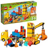 Lego Duplo系列 大型建筑工地 10813