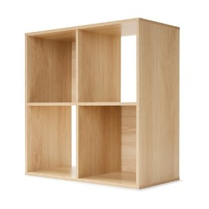 Kmart4 Cube Unit Oak Look 收纳格