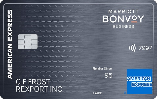 Earn 75,000 bonus Marriott Bonvoy points. Terms ApplyMarriott Bonvoy Business™ American Express® Card