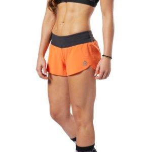 Reebok CrossFit® Knit Waistband Shorts - Orange | Reebok US