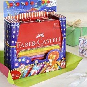 仅售€27.85Faber-Castell AW 201352 彩笔铁盒套装 特价