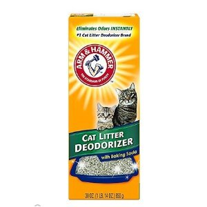 Arm & Hammer Litter Cat Litter Deodorizer Powder, 30-oz box - Chewy.com