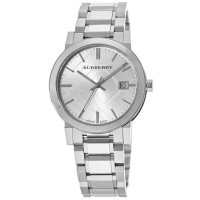 Burberry Large Check Silver Dial 38mm 男表